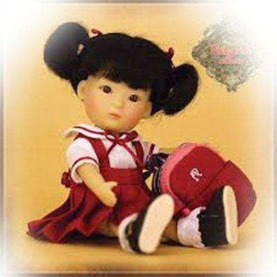 Yu Ping Going To School!mib  Darling Jointed Doll!ten Ping Little Sis Ruby Red