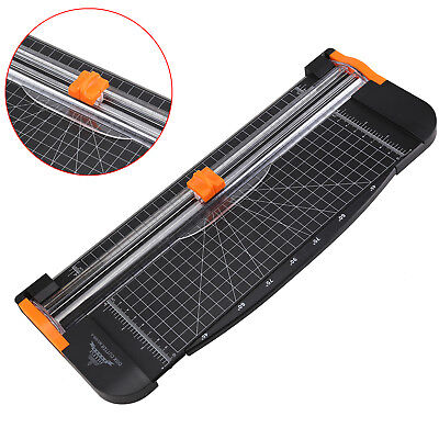 Cutter Trimmer A4 Photo Rotary Paper Guillotines Card Ruler Home Office Arts New