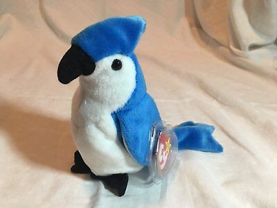 Mint Condition Retired Ty Original Beanie Baby ROCKET With Errors!