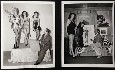 ALBERTO VARGAS Pin-up Girl L. DARNELL HALEY WHITNEY OWNBEY   2 Photos 1942-47 #2