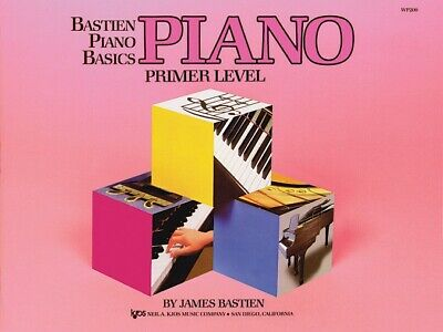 Bastien Piano Basics - Primer Level - Lesson Book - Kjos WP200 NEW