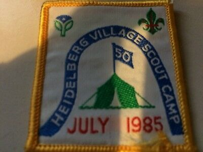 Girl Guides / Scouts Heidelberg Village Scout Camp July 1985
