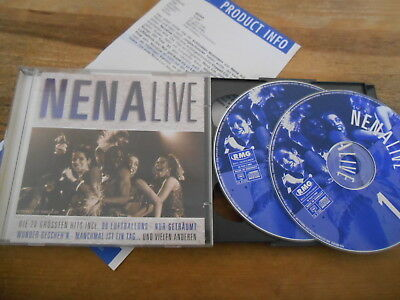 CD NDW Nena - Live 2CD (20 Song) EDEL REC / RMG MUSIC jc Presskit