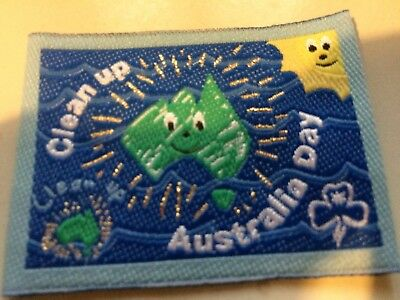 Girl Guides / Scouts Clean Up Australia Blue