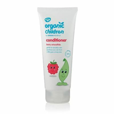 Green People Childrens Berry Smoothie Conditioner  [200ml]  (3 Pack)