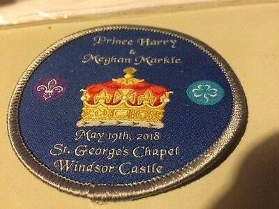 Girl Guides / Scouts Harry and Meghan Wedding