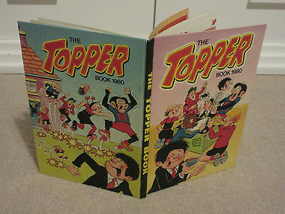 THE TOPPER BOOK, 1980-UNCLIPPED-VGC-LIKE BEANO/DANDY-No inscriptions
