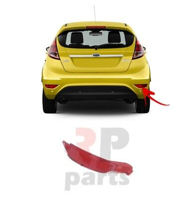 New Ford Fiesta 2008 - 2018 Rear Bumper Red Reflector Light Right 8A6115500Ab
