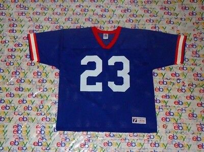 differently 8ea62 1d73a MENS VINTAGE NFL Buffalo Bills # 23 Marshawn Lynch Throwback Mesh Jersey  Large L