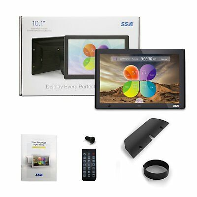 """SSA 10"""" Digital Photo Frame with Motion Sensor Picture Frames Advertising Player"""