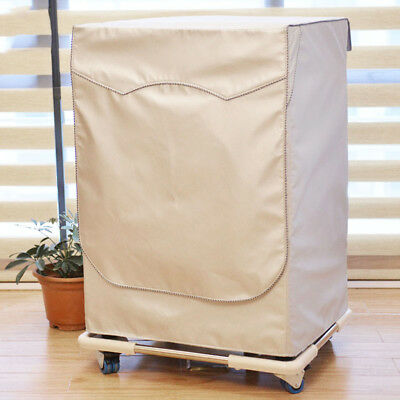 Waterproof Washing Machine Top Dust Cover Protection For Front Load Washer/Dryer
