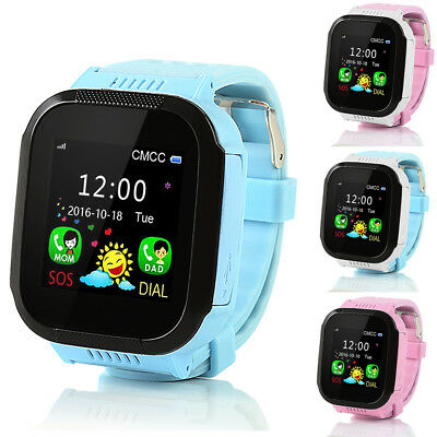 Smart Watch with GPS GSM Locator Tracker SOS Call Anti-lost For Kids Children EH