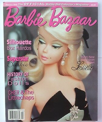 Barbie Bazaar Magazine 2001 Vintage '80s Superstar, Silkstone, Fashion Doll
