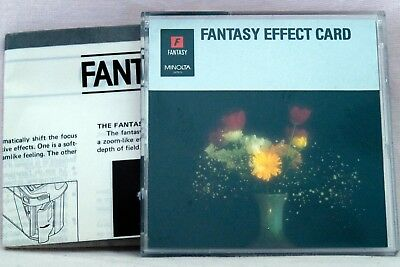 Minolta Fantasy Effect Card for Maxxum 7000i 8000i 700si 750si 800si