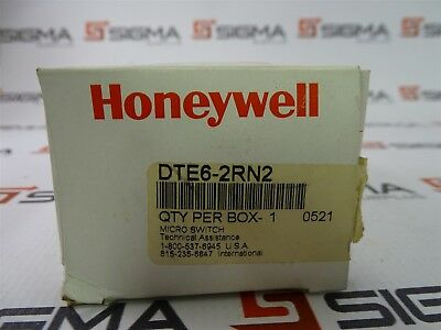 Honeywell DTE6-2RN2 Micro Switch 10A 125/250VAC