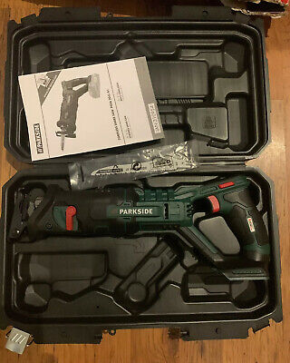 Parkside Cordless Sabre Saw Pssa 20 Li A1 Battery Not Included Worldwide