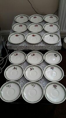 portmeirion botanic garden side plates 18 pieces