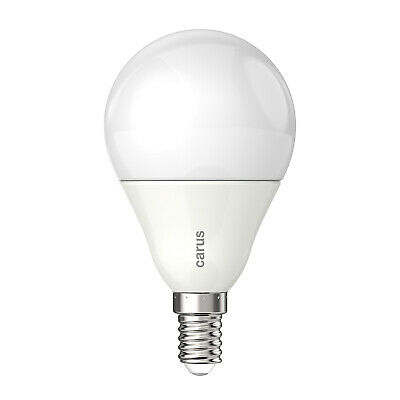CARUS LED-LAMPE E14 MATT 8,3W=48W 600lm warmweiß 2700K dimmbar 90 Ra Germany