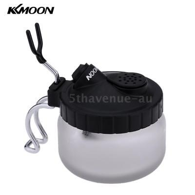 KKmoon Airbrush Cleaning Pot Glass Air Brush Holder Bottle For Art Tattoo C4U1