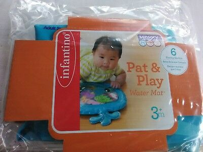 Pat and Play Water Mat BPA-free Perfect for Tummy Time & High Chairs
