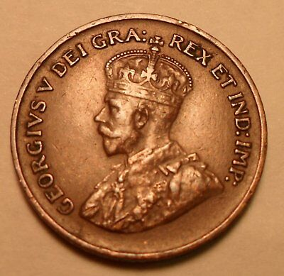 Canada One Cent 1930 Scarce 1 Cent