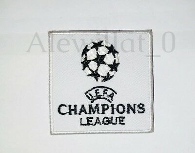 Champions League Logo Embroidered Badge Iron On Sew On Clothe Jacket Jeans N-504