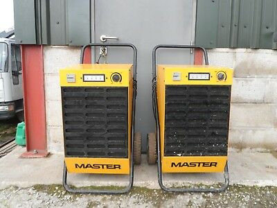 Master Dh62 Dehumidifier Direct From Large Company Spares Or Repair