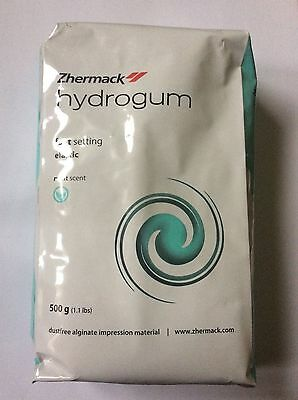 Dental alginate Hydrogum 500g bag by Zhermack