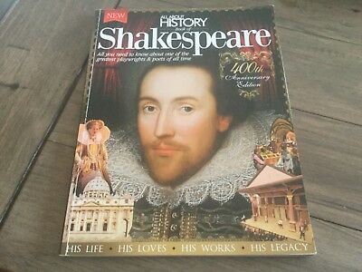 All About History Magazine 2014, Book Of Shakespeare.