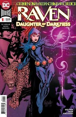 Raven Daughter Of Darkness #1 (2018) Vf/Nm Dc