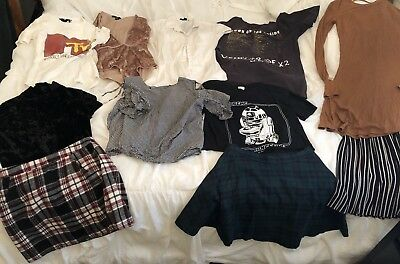 Forever 21 Tops/Skirt/dress 11 Piece Lot Size XS