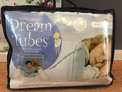 Hippychick Dream Tubes Bed Bumpers - Single Spare Sheet, VGC
