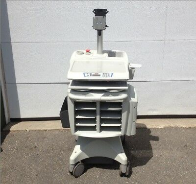 Rubbermaid Medical Solutions FG-9M39R8 Cart w/ Monitor Mount No Drawers No BTRY