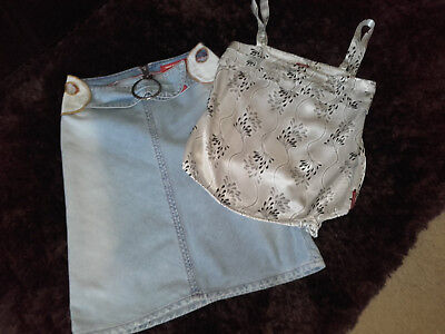 Miss Sixty top and skirt bundle womens s/xs excellent condition!