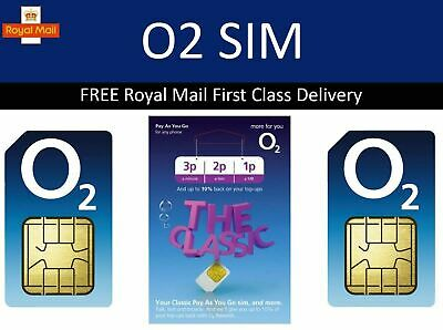 *o2 2G Sim Card for GPS Tracking Device Tracker GSM Car Pet Child Personal O2