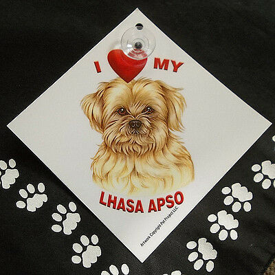 Lhasa Apso Auto Decal