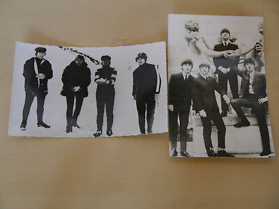 Postkarte, Kolibri Fotokarte, The Beatles, rar selten Vintage