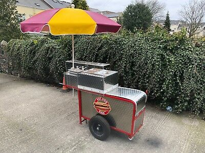 Hot Dog Stand stainless steel