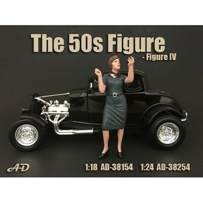 """1/24 scale NEW - Figure #4 from  American Diorama new """"50's Figures AD-38254"""