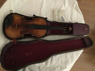 old vintage violin from 1956 For Parts