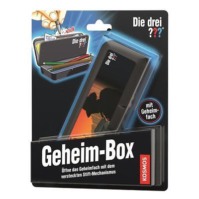 Kosmos The Three ??? - geheim-box 3 Question Marks DETECTIVE TOY FROM 8 years