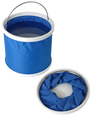 Collapseable Folding Bailing Bucket Boat Fishing Safety 11L