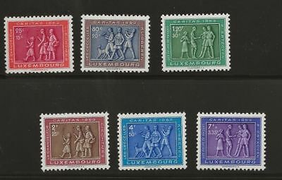 Luxembourg Sc# B174-9 Mh Stamps