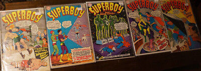 Silver Age DC Superboy Lot Neal Adams 12cts 124 128 136 141 152  SEE LISTING 8.0