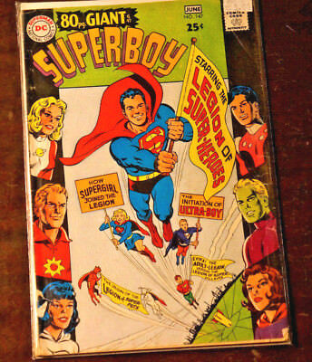 Superboy 147 80 page giant Silver Age DC Krypto Legion of Superheroes 5.0