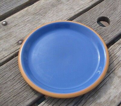 "Vtg 9"" Diameter * CROWN CORNING - Sonora & Blue * Luncheon Plate Set of 1 JAPAN"