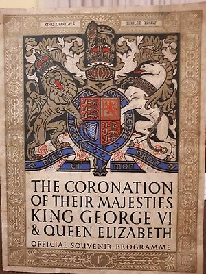 The Coronation of their Majesties King George VI & Queen Elizabeth