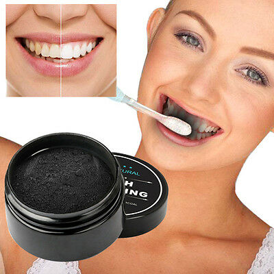 New Teeth Whitening Powder Natural Organic Activated Charcoal Bamboo Toothpaste