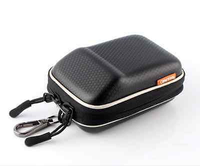 Black Hard Camera Case Bag Pouch for Canon G7 X Mark II, ELPH 360 HS, 180 170 IS
