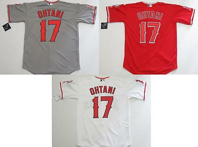 5bcafbd37 NEW SHOHEI OHTANI  17 Los Angeles Angels Cool Base Mens Jersey Home Road -   44.99